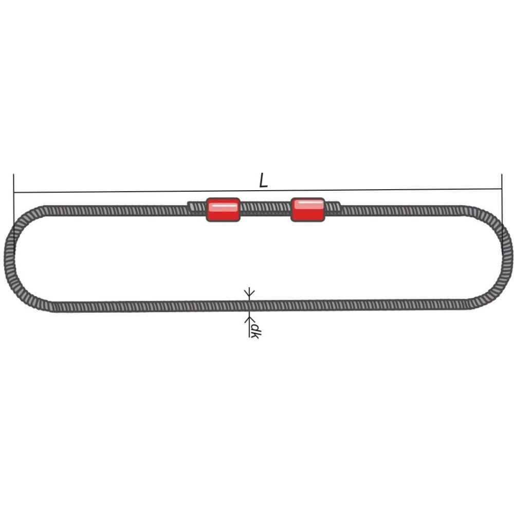 Канатный кольцевой строп опрессовка кантаплюс скк-2.0/3.0мКольцевые СКК (УСК2)<br>Вес: 3.13 кг;<br>Длина: 3 м;<br>Грузоподъемность: 2 т;<br>Диаметр каната: 11 мм;<br>Класс товара: Бытовой ;<br>Материал: сталь ;<br>Тип: кольцевой ;