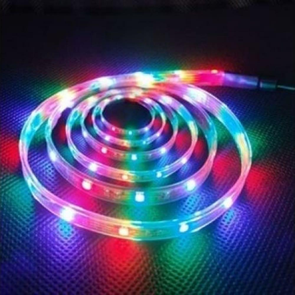 Светодиодная лента ls5050-30led-ip65-rgb эра 613856 c0043044