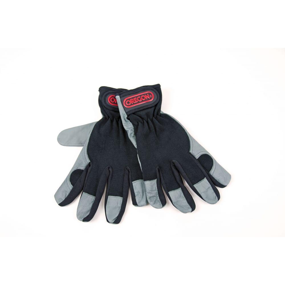 Защитные перчатки oregon размер 9 539171mСпилковые и кожаные<br>Материал: комбинированный ;<br>Размер: M ;<br>Утепленные: нет ;