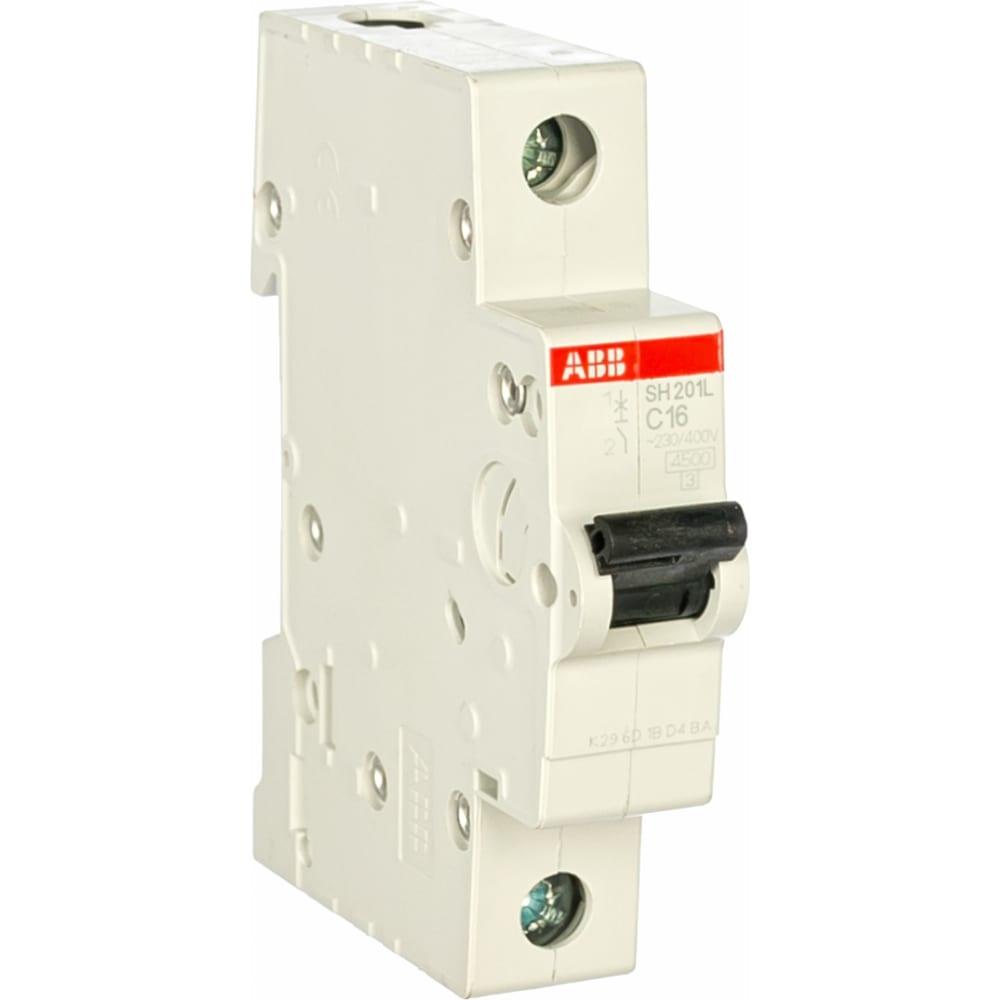 Купить Автоматический модульный выключатель abb 1п c sh201l 4.5ка 20а 2cds241001r0204