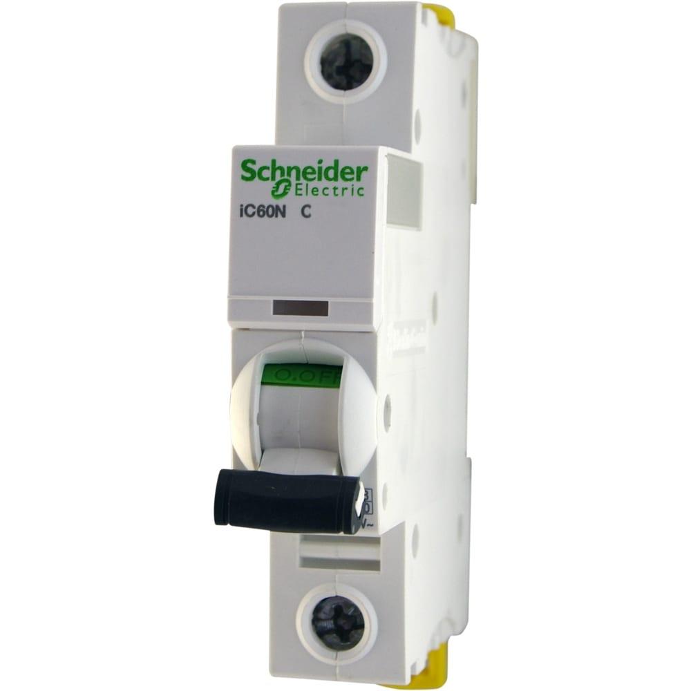 Купить Автоматический модульный выключатель acti9 ic60n 1п c 16а 6ка schneider electric a9f79116