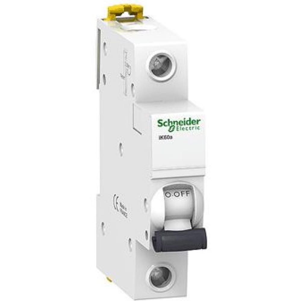 Купить Автоматический модульный выключатель acti9 ik60 1п c 16а 6ка schneider electric a9k24116