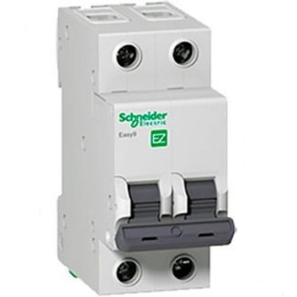 Купить Автоматический модульный выключатель easy 9 2п c 40а 4.5ка schneider electric ez9f34240