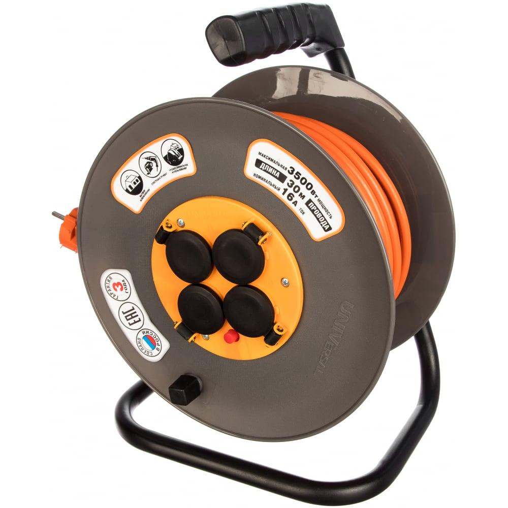 Силовой удлинитель universal вем-250 ip-44 термо пвс 3*1,5 30м 9634174