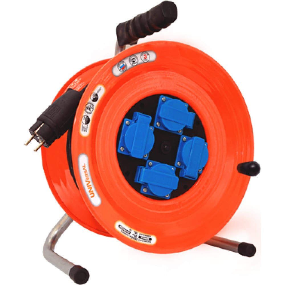Силовой удлинитель universal вем-259 ip-44 термо кг 3*1,5 40м 9632973