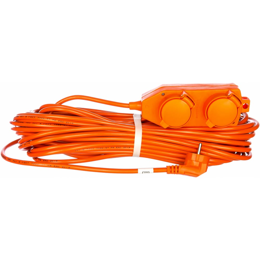Силовой электрический удлинитель 30м, пвс 3х1.5 universal у16-040 9633862