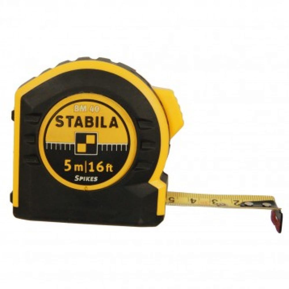 Рулетка stabila bm40 5 м х 19мм 17740