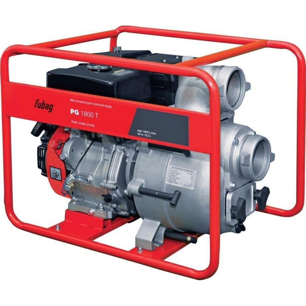 Мотопомпа для сильнозагрязненной воды fubag pg1800т 838248