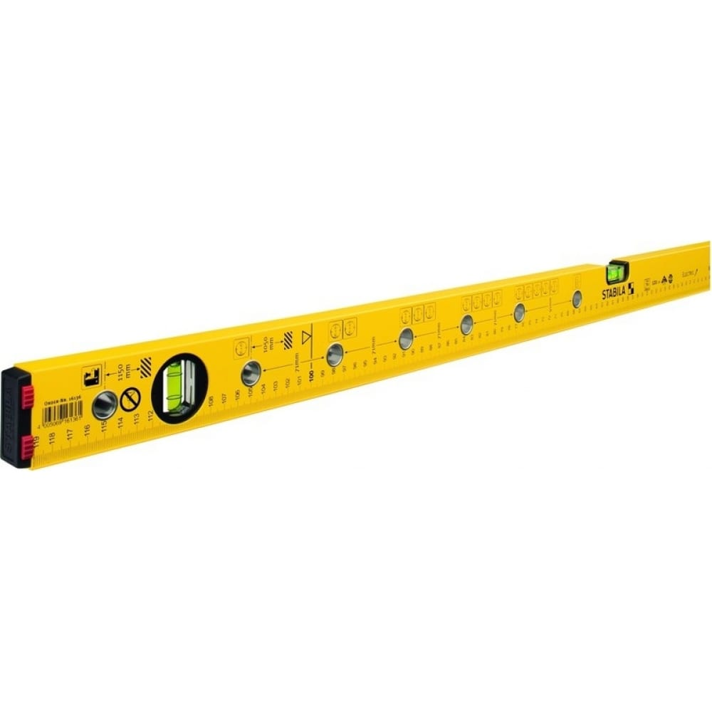 Уровень для электрика stabila тип 70 electric, 120 см 16136