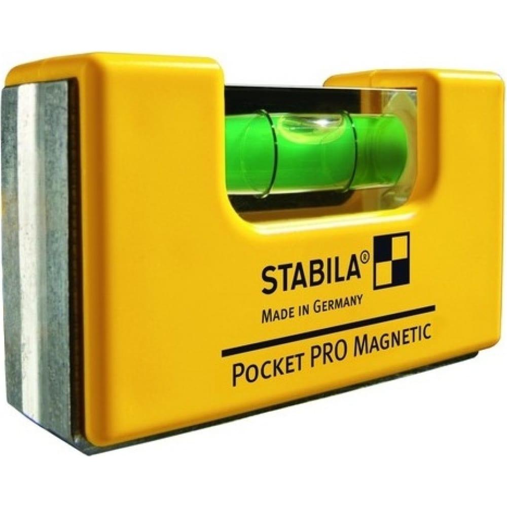 Уровень stabila тип pocket pro magnetic 17768