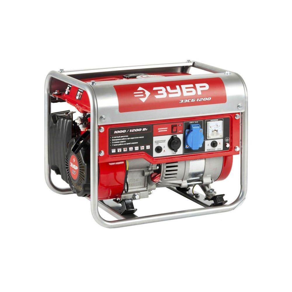 Бензиновый генератор зубр зэсб-1200