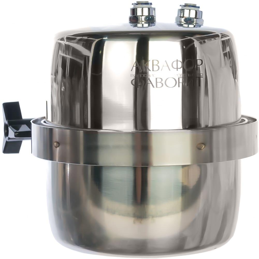 Проточный водоочиститель под мойку аквафор фаворит в150