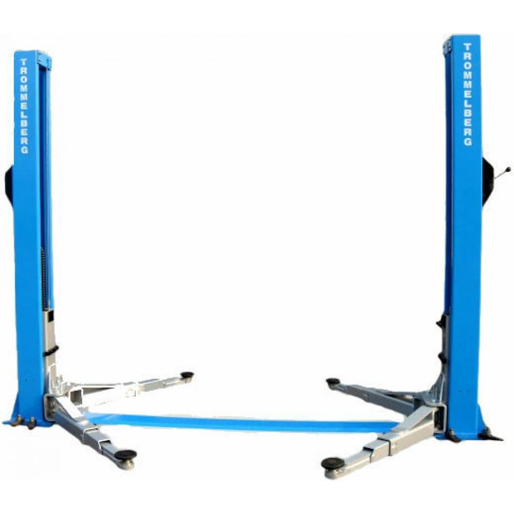 Купить Электрогидравлический двухстоечный симметричный подъемник trommelberg tst55w