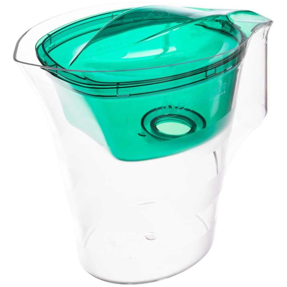 Фильтр-кувшин для очистки воды барьер твист 4 л, цвет зеленый