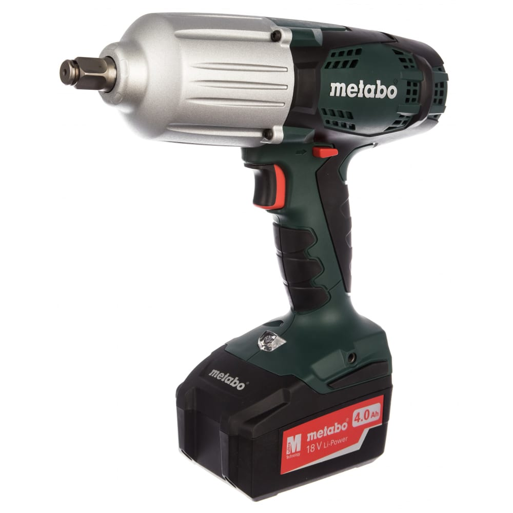 Аккумуляторный ударный гайковерт metabo ssw 18 ltx 600 602198500