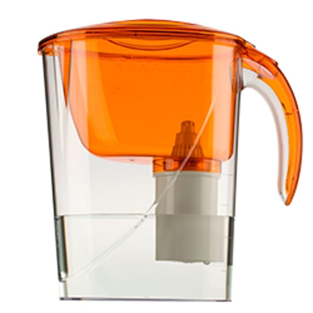 Фильтр-кувшин для очистки воды барьер эко 2,6 л, цвет янтарь