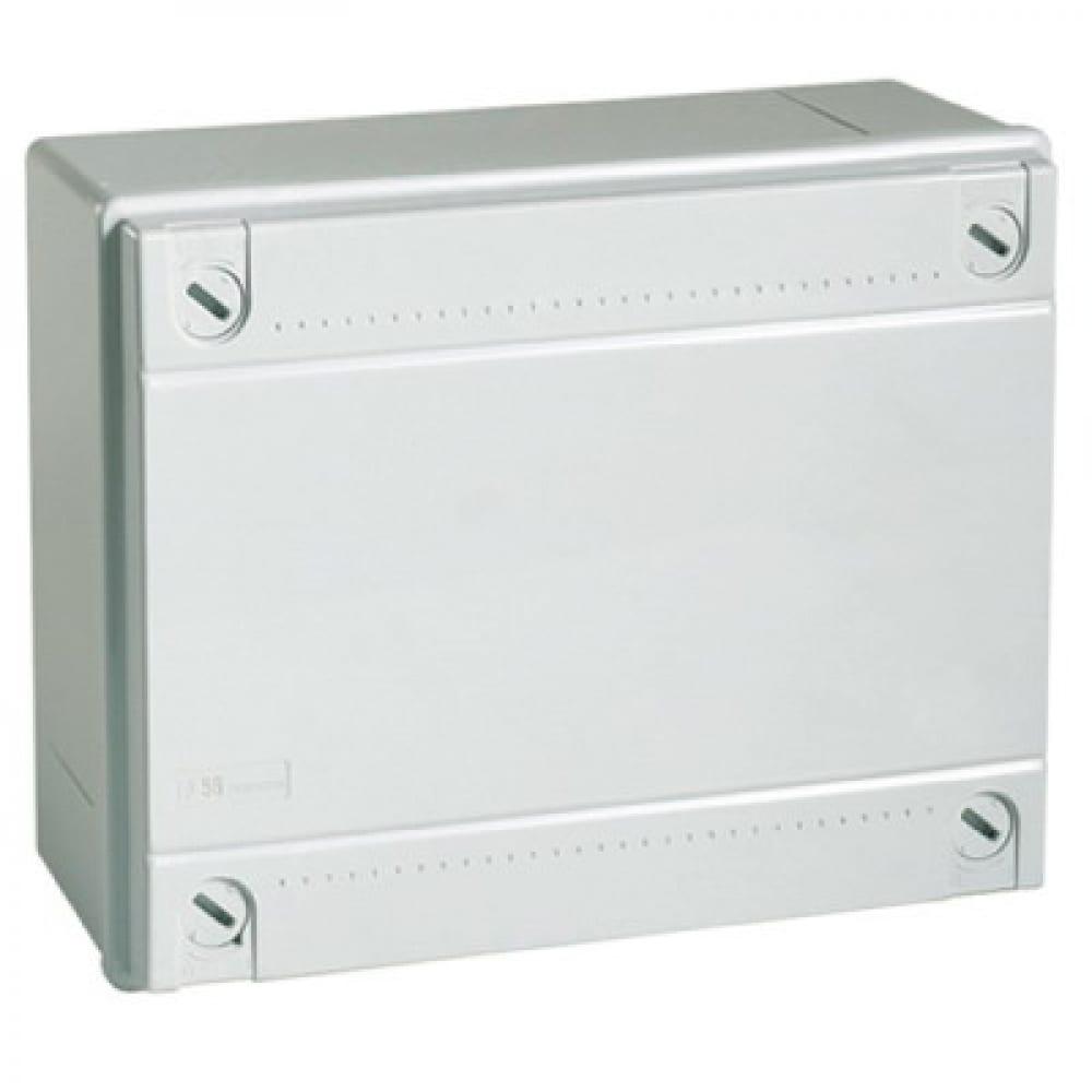 Ответвительная коробка с гладкими стенками 190х140х70мм ip56 dkc 54110