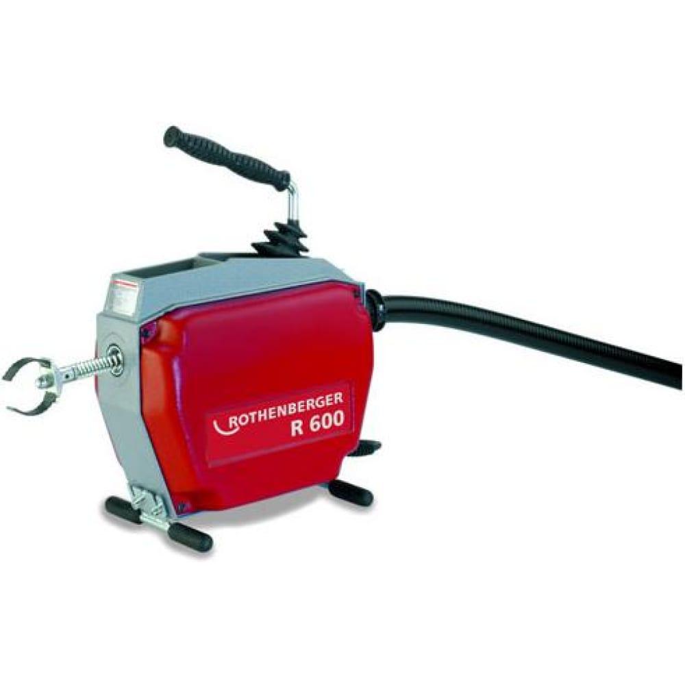 Купить Переносная электрическая машина для чистки труб rothenberger r600 72675