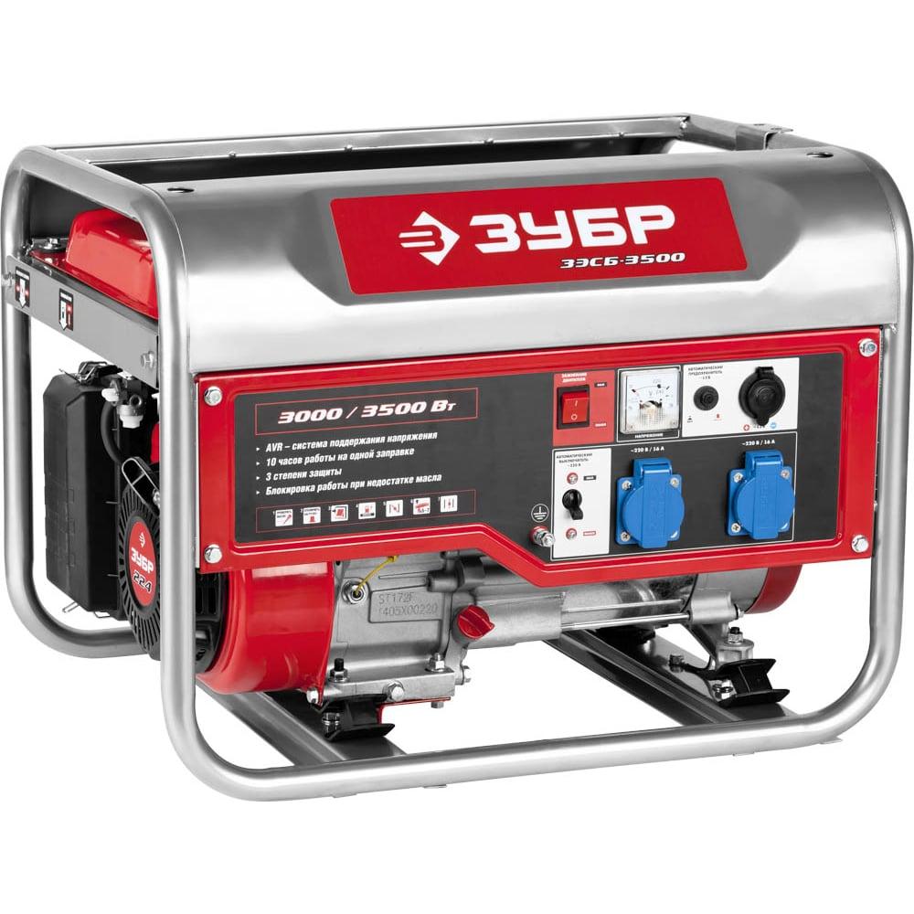 Бензиновый генератор зубр зэсб-3500