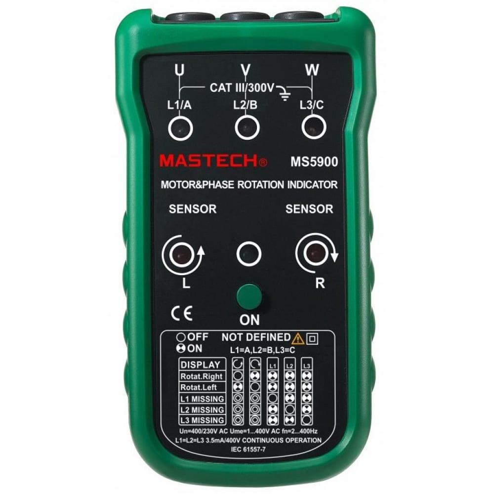 Индикатор чередования фаз mastech ms5900 59266