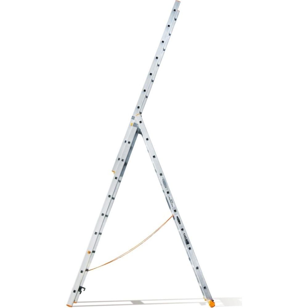 Трехсекционная лестница эйфель классик 3х10