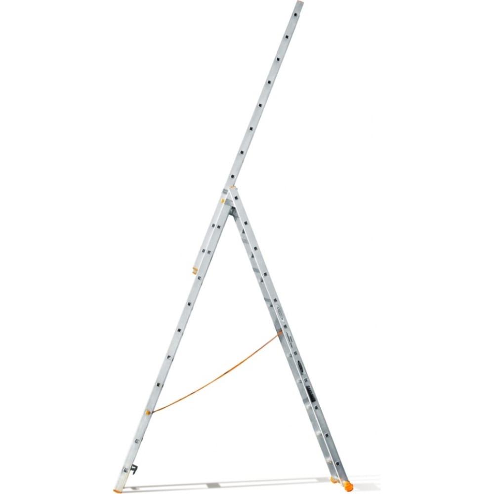 Трехсекционная лестница эйфель классик 3х11