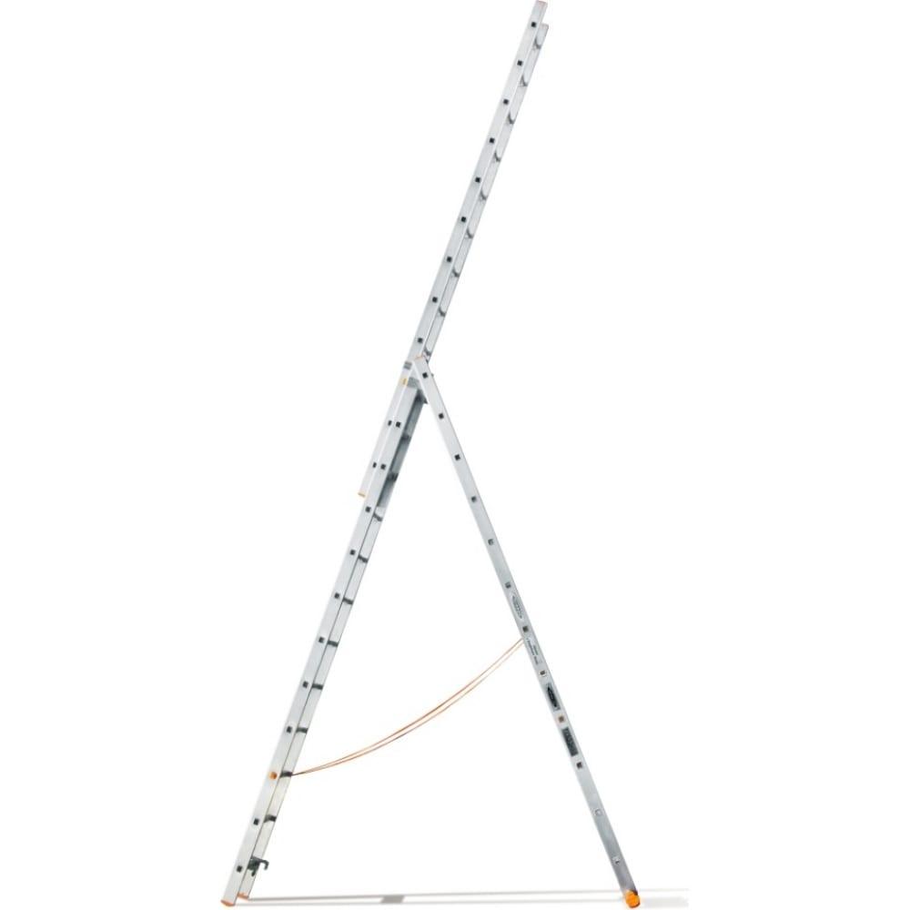Трехсекционная лестница эйфель классик 3х12