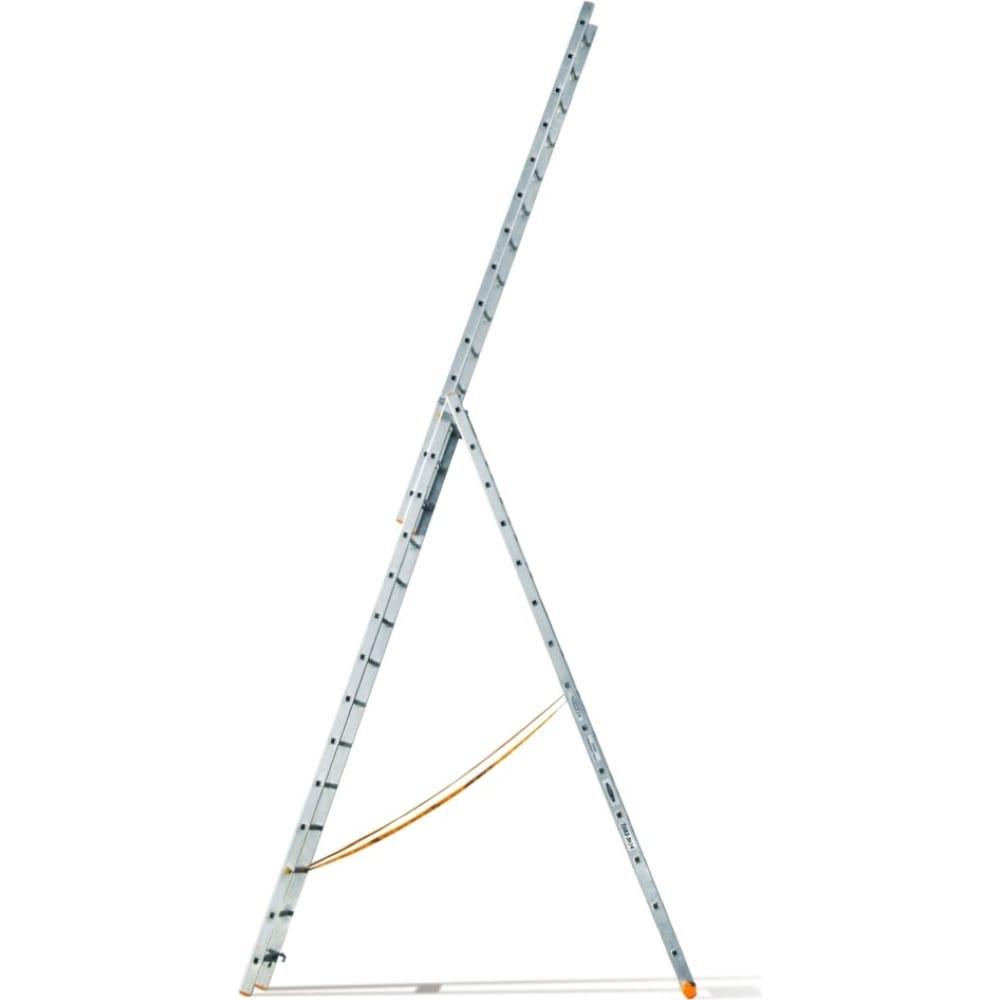 Трехсекционная лестница эйфель классик 3х14