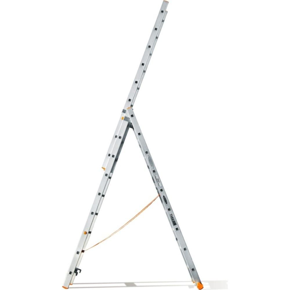 Трехсекционная лестница эйфель классик 3х9