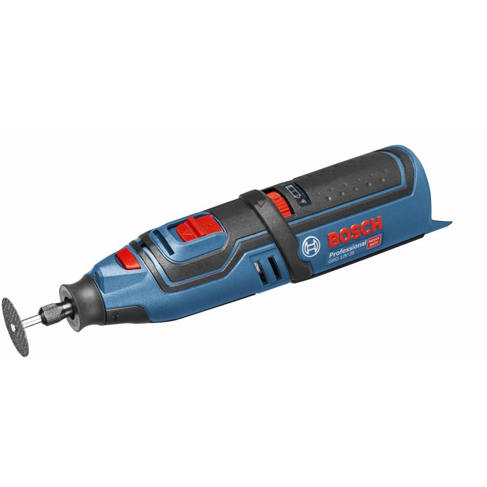 Аккумуляторный гравер bosch gro 12v-35 solo 0.601.9c5.000