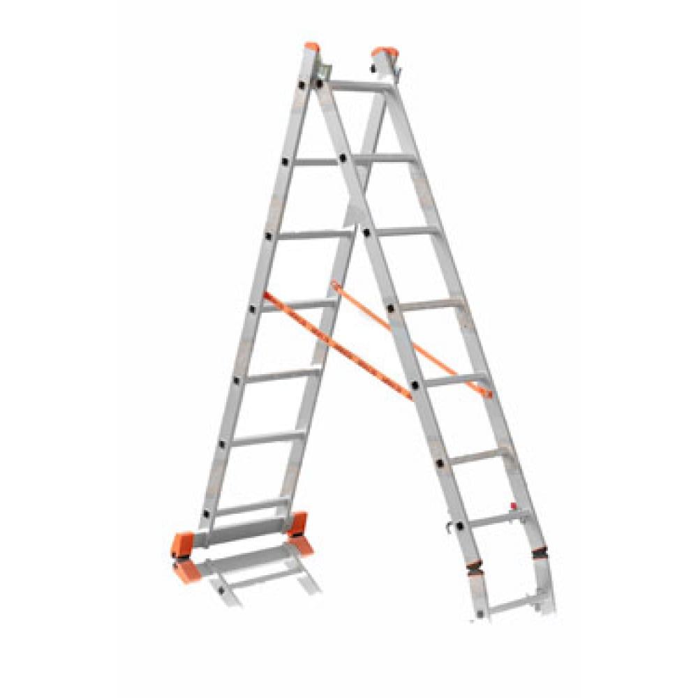 Двухсекционная лестница эйфель премьер 2х10