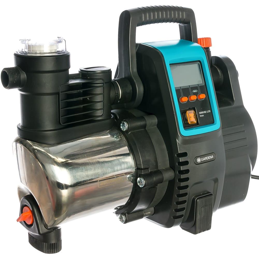 Купить Напорный автоматический насос gardena 6000/6e lcd inox premium 01760-20.000.00
