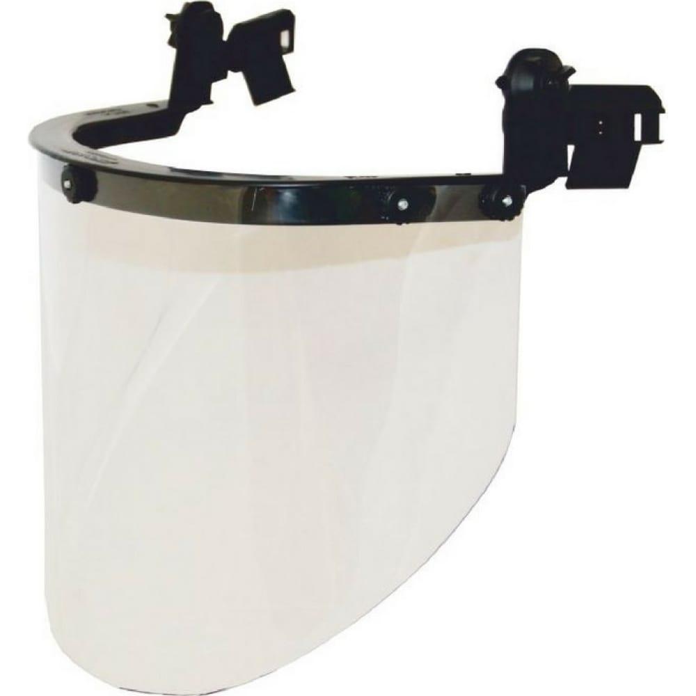 Купить Защитный лицевой щиток с креплением на каске росомз кбт визион titan 04330