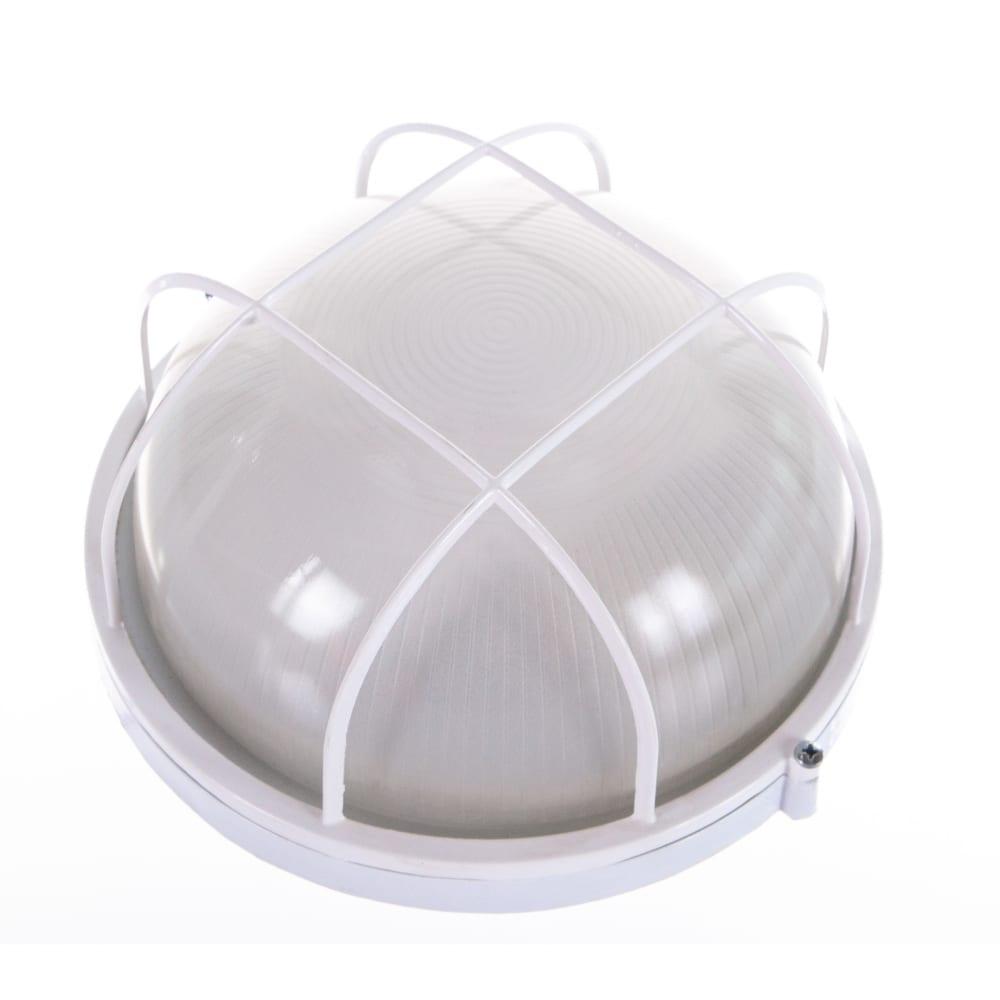 Светильник белый/круг с решеткой tdm нпб1102 sq0303-0026.