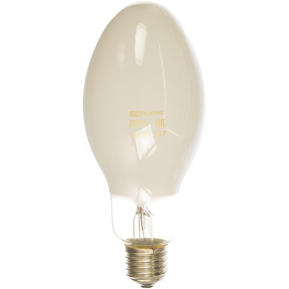 Ртутная лампа высокого давления tdm дрл 125 вт е27 sq0325-0008