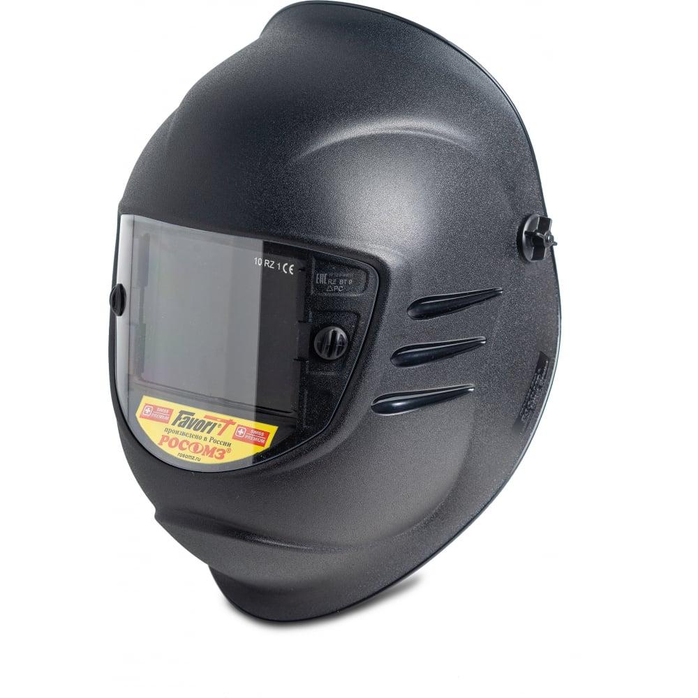 Купить Защитный лицевой щиток сварщика с креплением на каске росомз кн premier favorit 13 05367