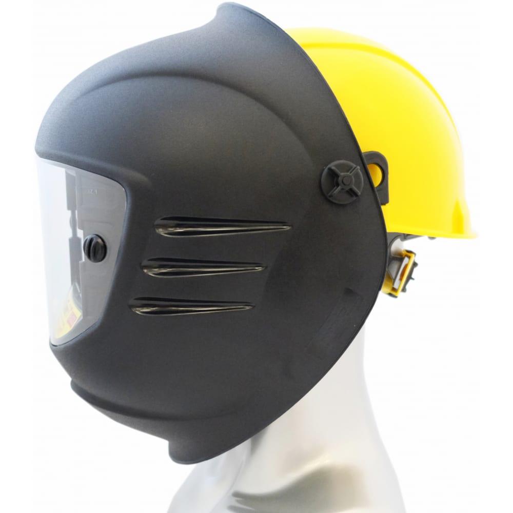 Купить Защитный лицевой щиток сварщика с креплением на каске росомз кн super premier favorit 12 05666