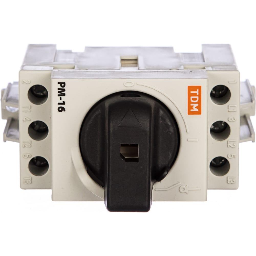 Модульный рубильник tdm рм-16 sq0222-0001
