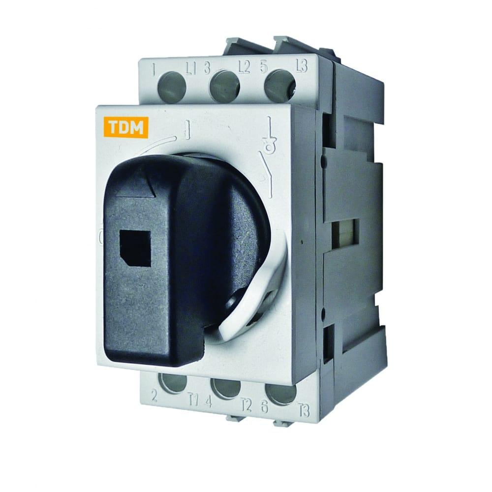 Модульный рубильник tdm рм-25 sq0222-0003