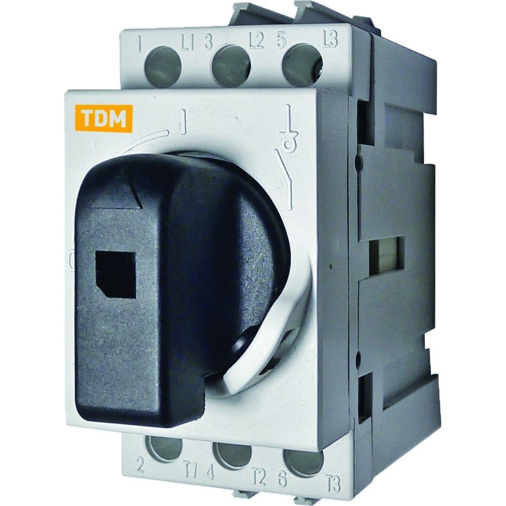 Модульный рубильник tdm рм-63 sq0222-0005