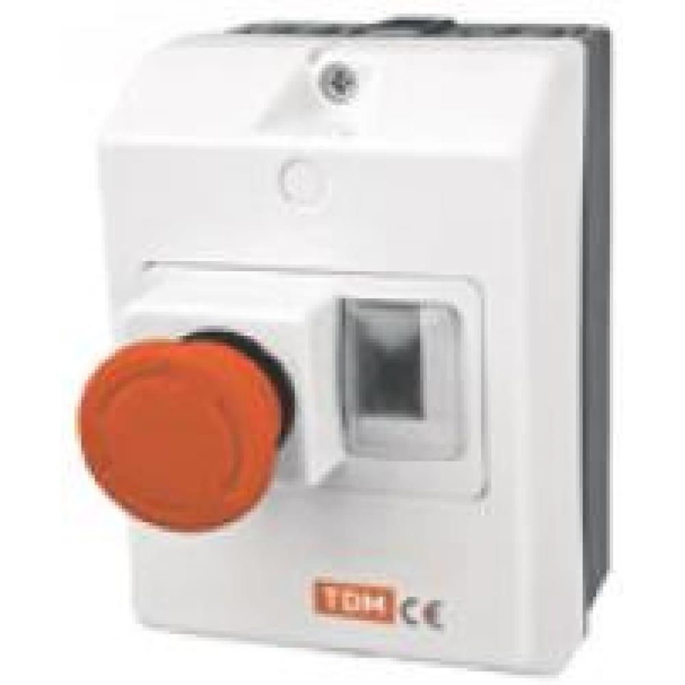 Защитная оболочка с кнопкой tdm sq0212-0034