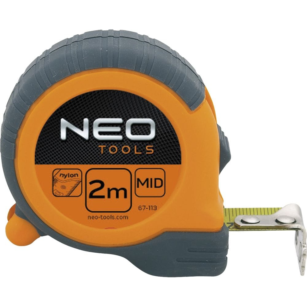 Купить Рулетка, стальная лента 2 м x16 мм магнит neo 67-112