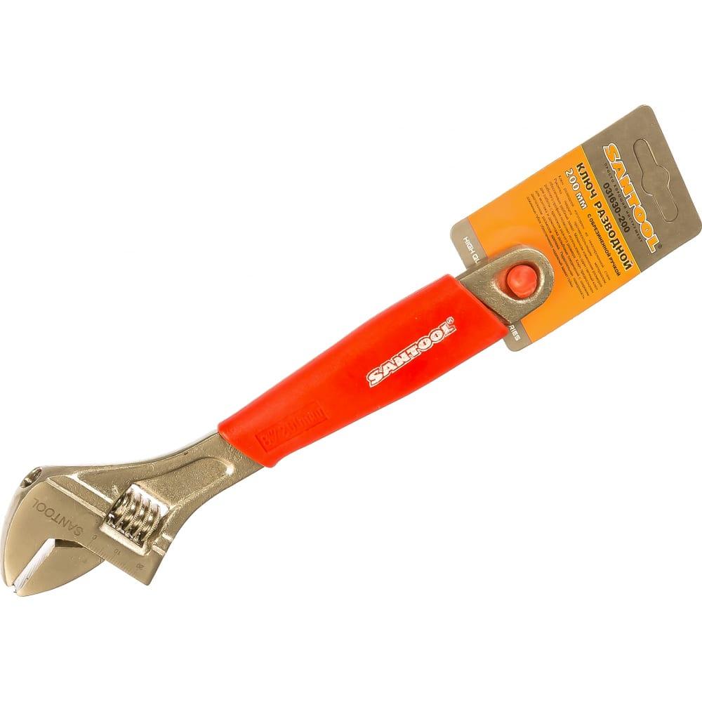 Разводной ключ santool 200 мм 031630-200