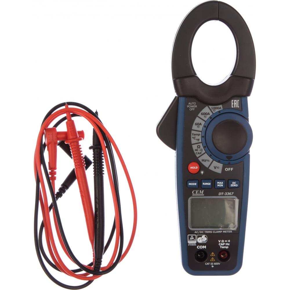 Профессиональные токовые клещи сем dt-3367 481783