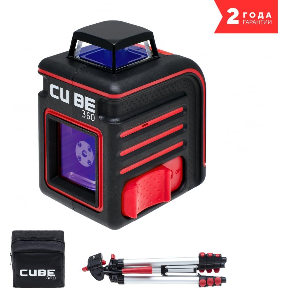 Построитель лазерных плоскостей ada cube 360 professional edition а00445