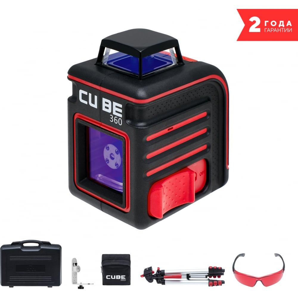 Лазерный нивелир (уровень) ada cube 360 ultimate edition а00446