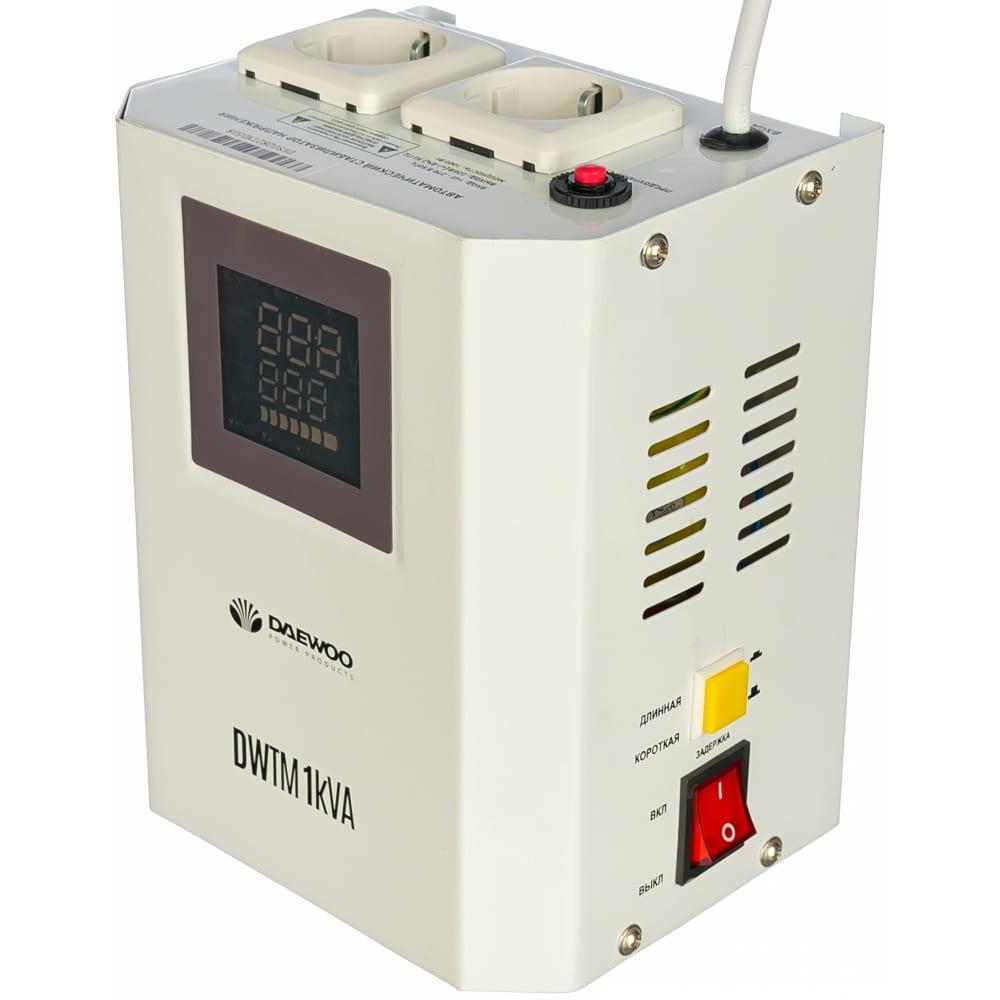 Настенный стабилизатор напряжения daewoo dw-tm1kva