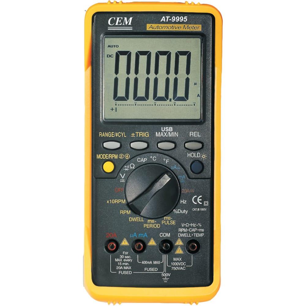 Профессиональный автомобильный мультиметр сем at-9995e 481547