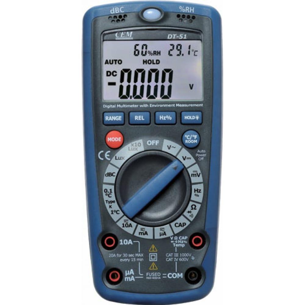 Мультиметр 6 в 1 сем dt-61 480496