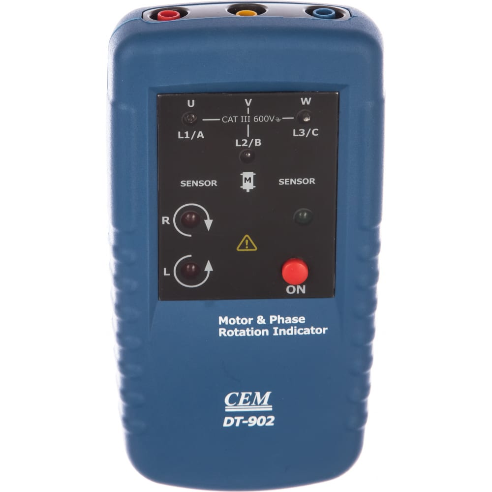 Индикатор порядка обмоток электродвигателя и чередования фаз сем dt-902 480892